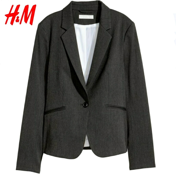 Fitted One Button Blazer